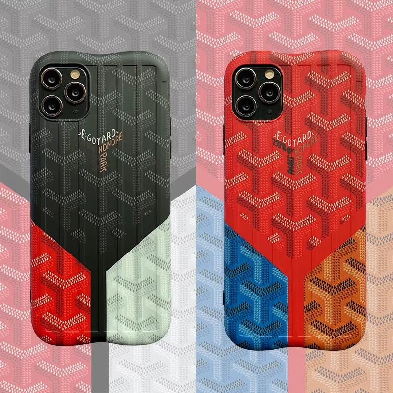 ブランド iphone xr/xs maxケース ゴヤール