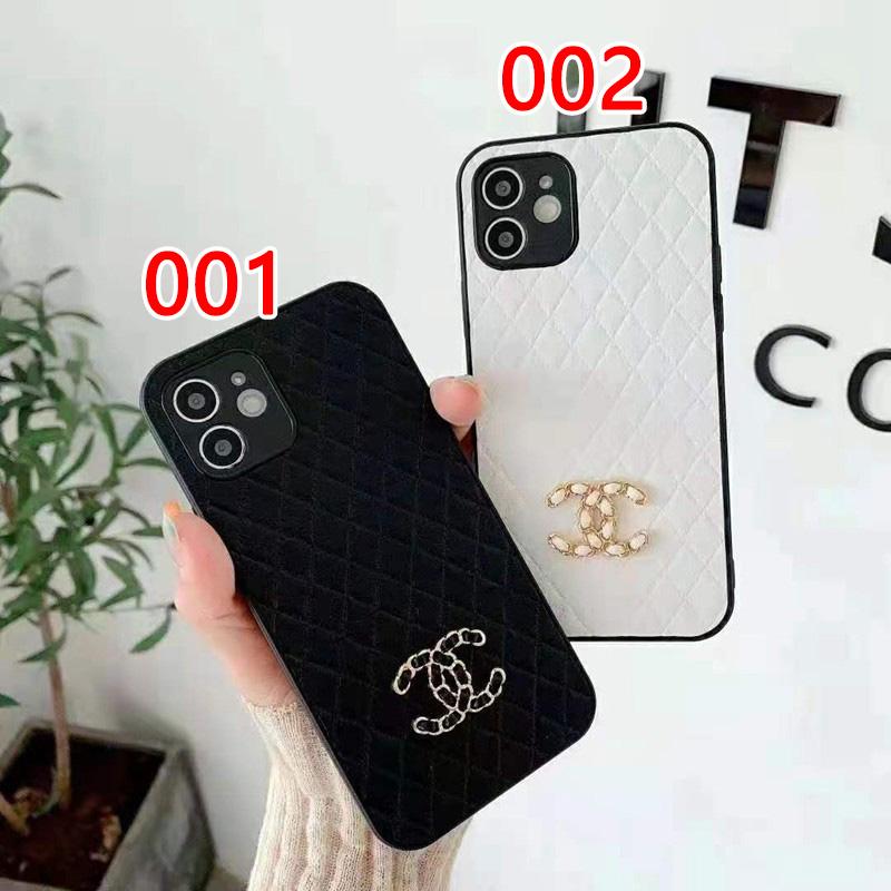 シャネル/Chanel ブランド iphone 13 pro/12s/12 pro/13 pro maxケース 可愛い レザー 個性 ジャケット型