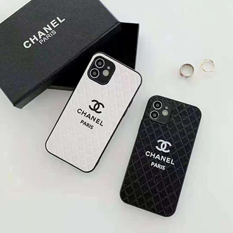 シャネルChanelブランド アイフォン13/12/13pro max mini/12sカバー レディース 可愛い革 ジャケット シンプル