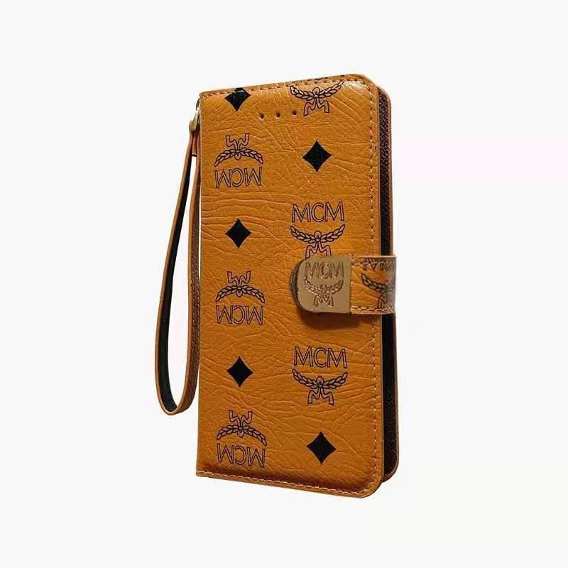 エムシーエム ブランド iphone 13 12sカバー 腕ストラップ付き 携帯便利