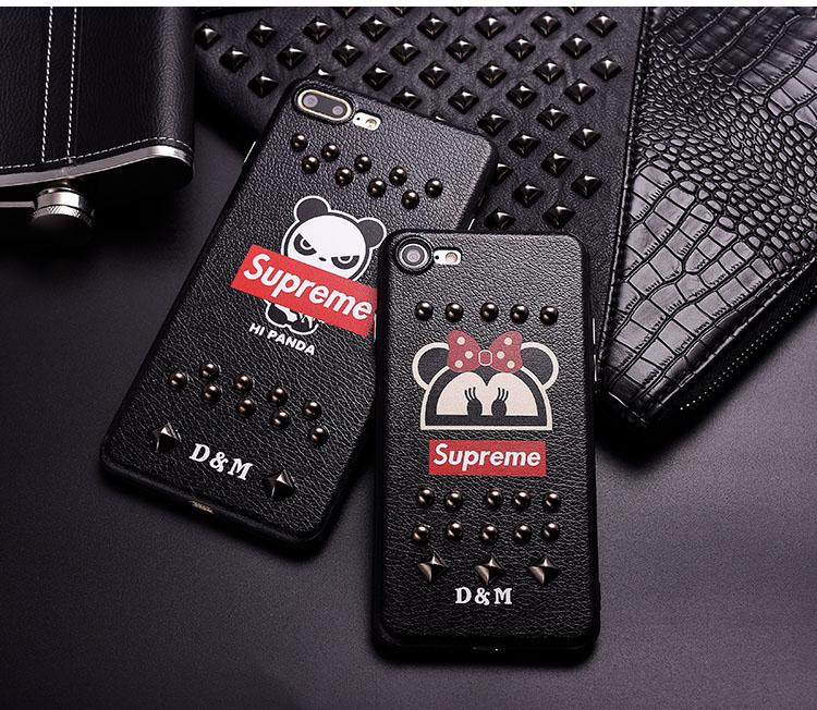 Supreme iPhone8/7 plusカバー リベット