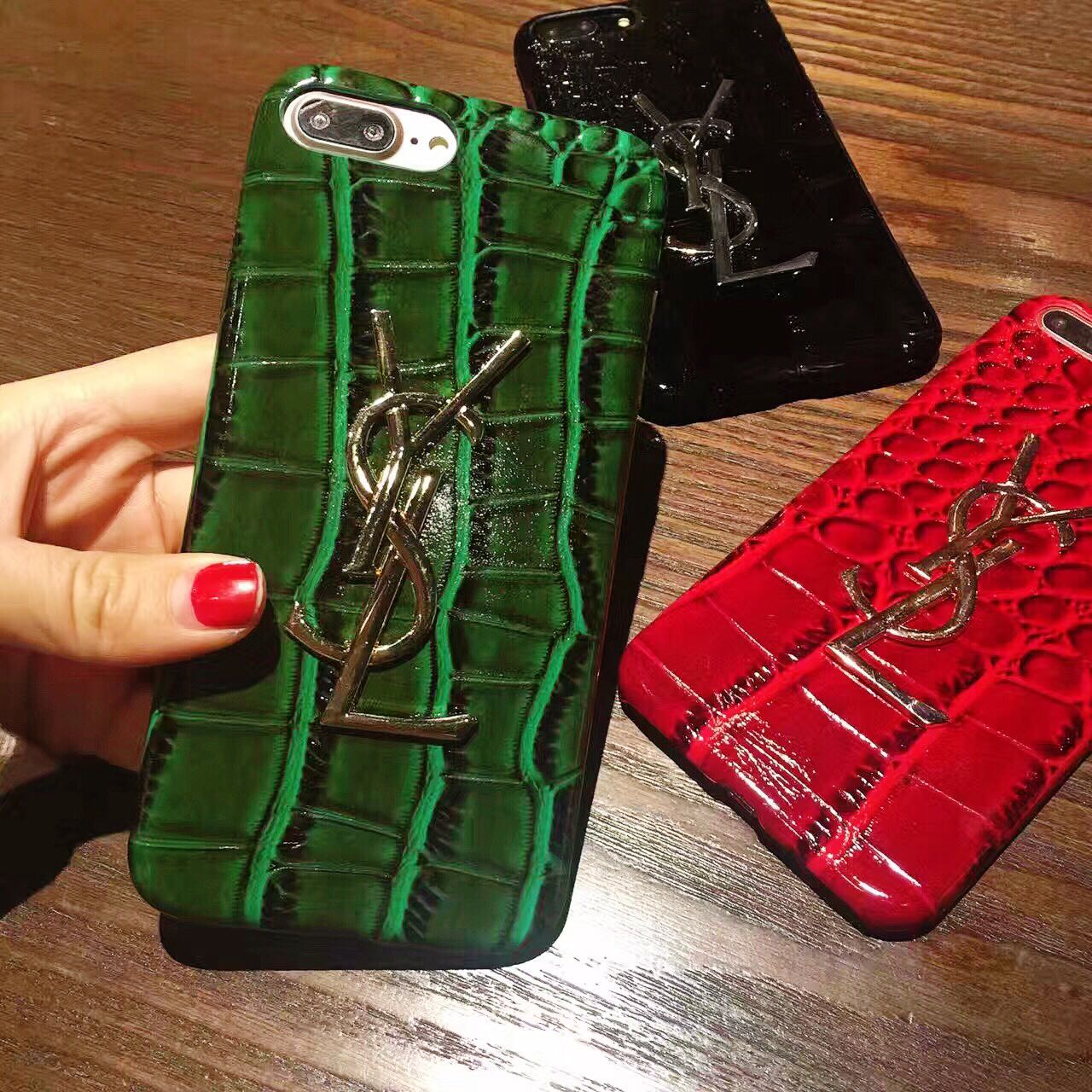ファッション イブサンローラン iphone7 plusケース