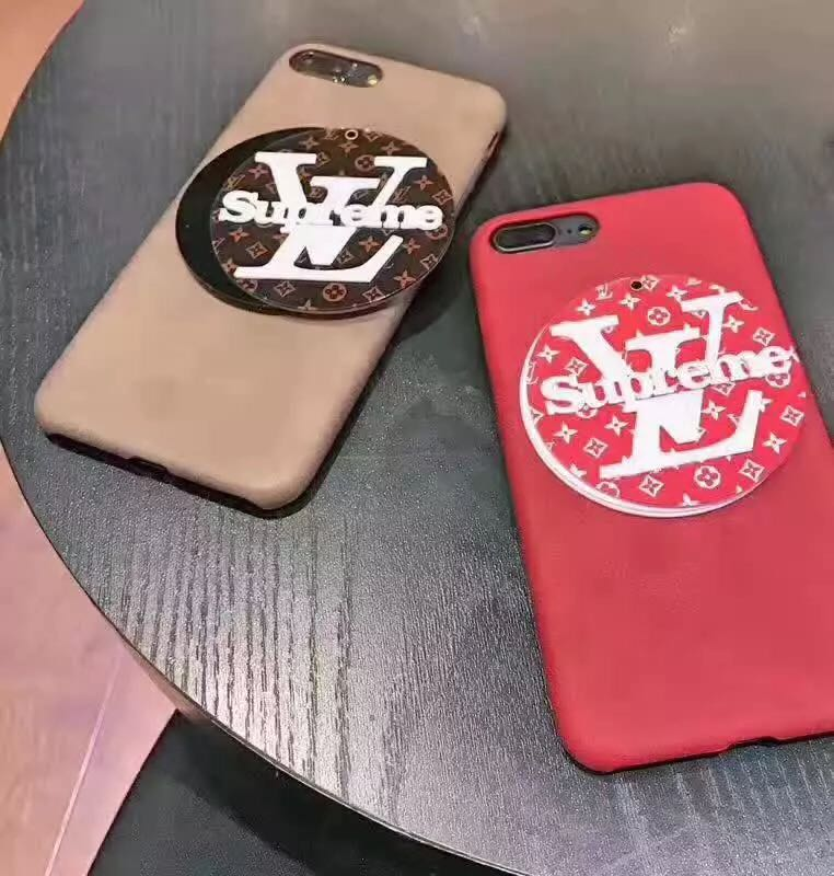 シュプリーム iphone8/7 plusケース 鏡付き