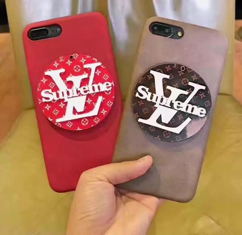 お洒落 lv supreme iphone6/6s plusカバー