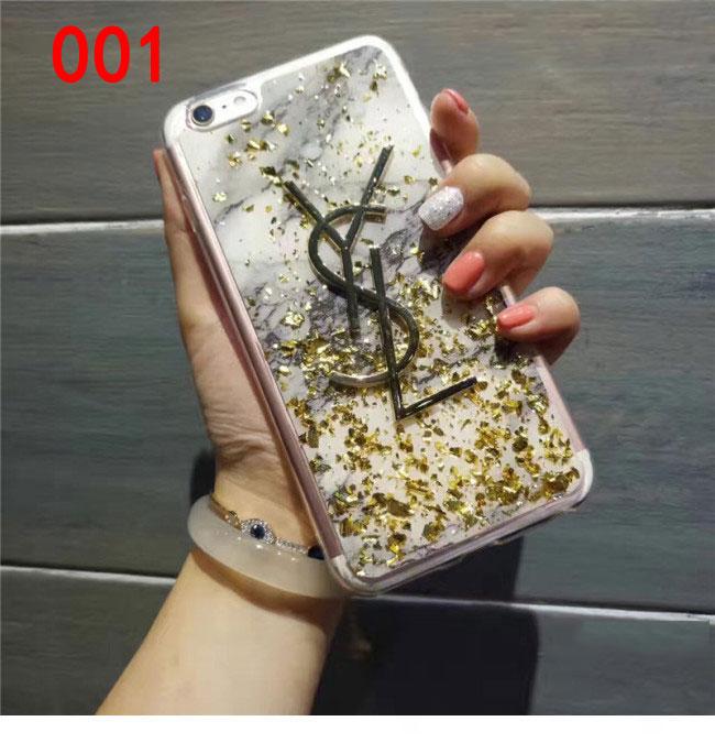 YSL アイフォン7プラスケース キラキラ