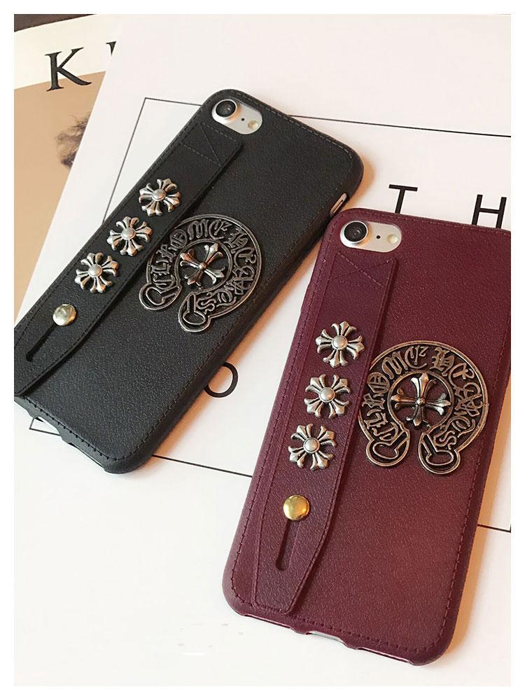 ブランド iphone7/7 plusカバー chrome hearts
