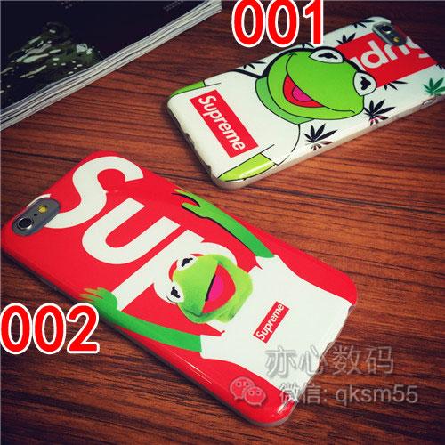 可愛い iphone8ブランドカバー シュプリーム