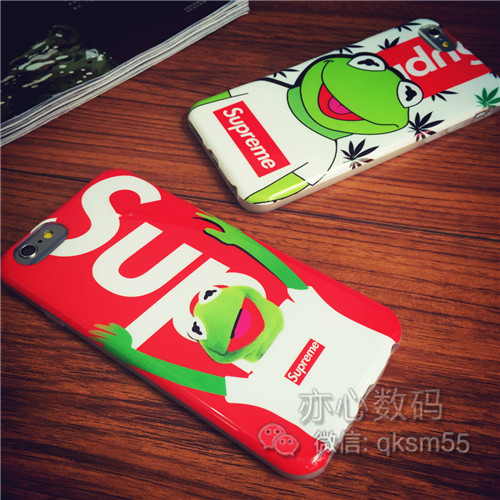 蛙 iphone7/7 plusケース supreme