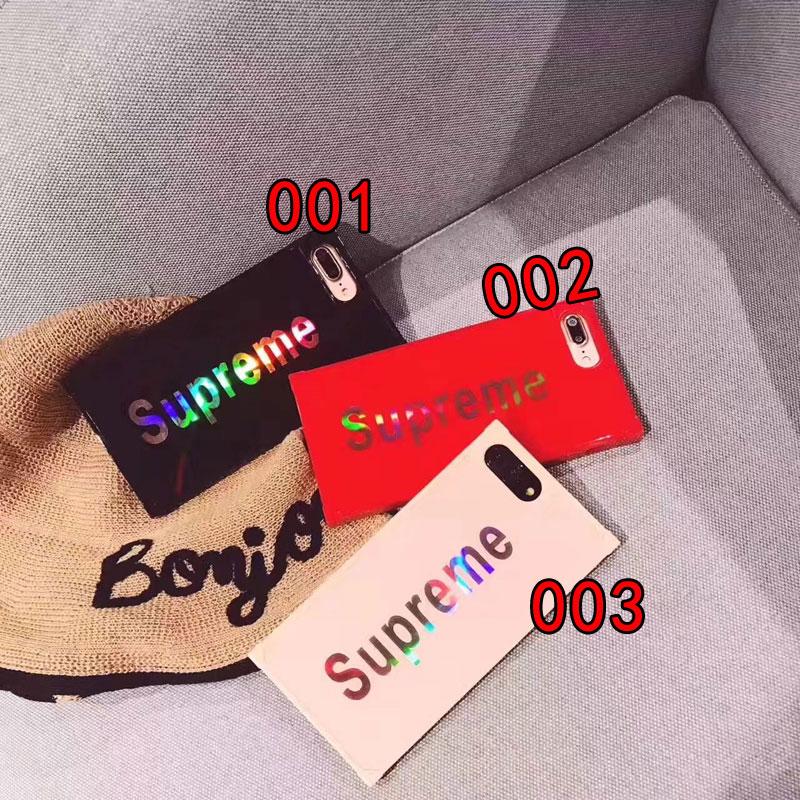 シュプリーム Galaxy S8/S8+ブランドケース カッコイイ