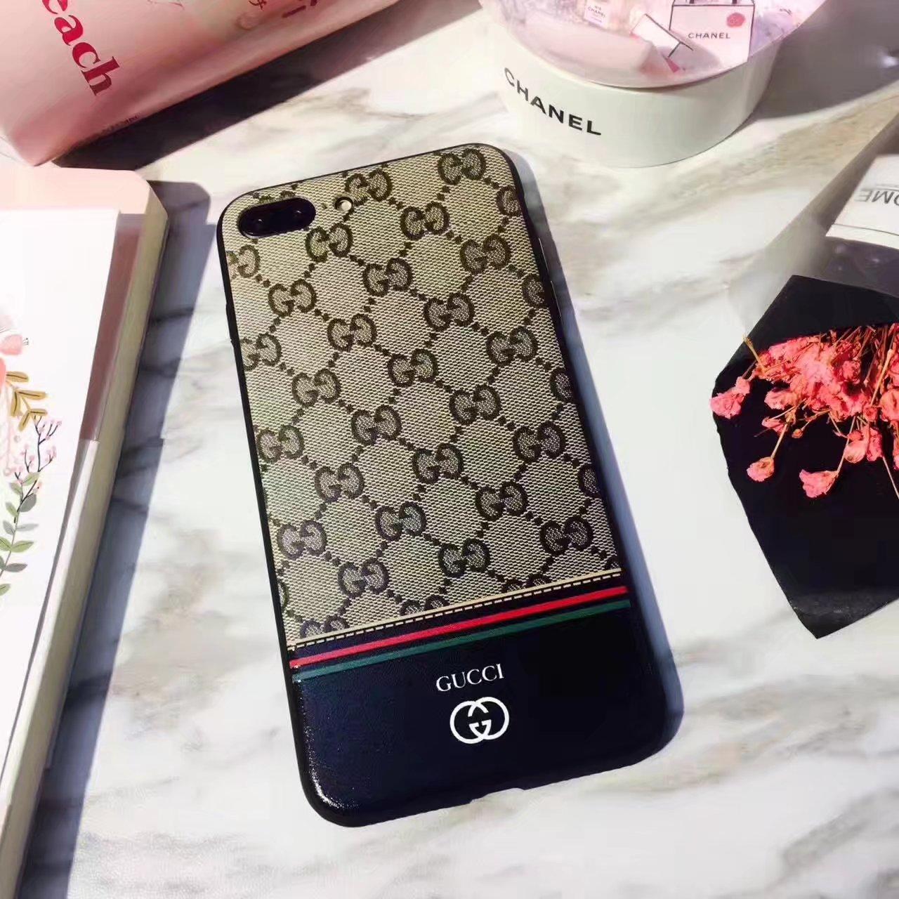 ブランド iphone xs/xrケース グッチ