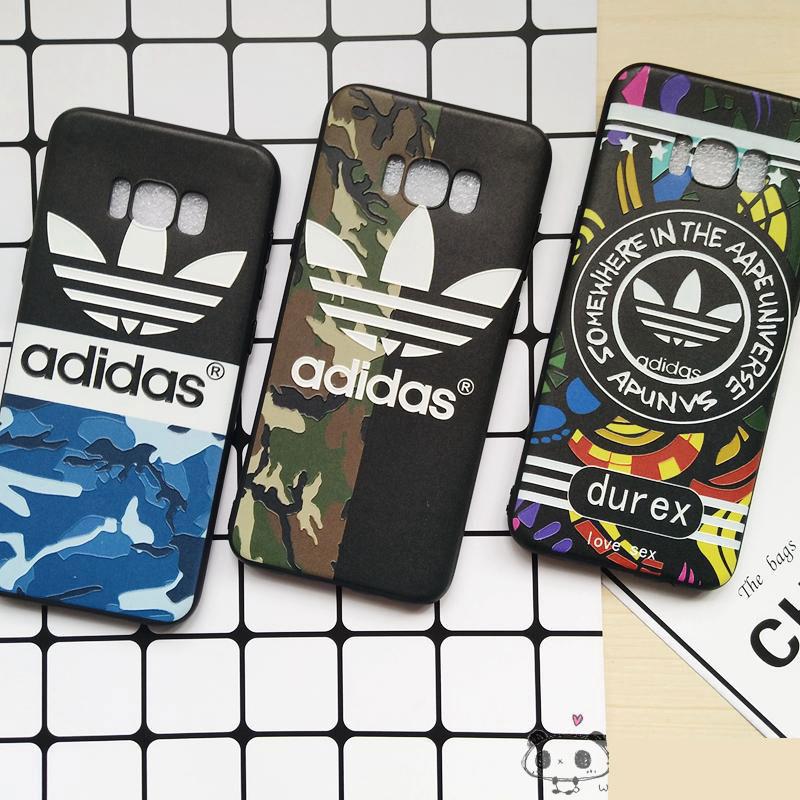 adidas ギャラクシー  s8/s8+スマホケース