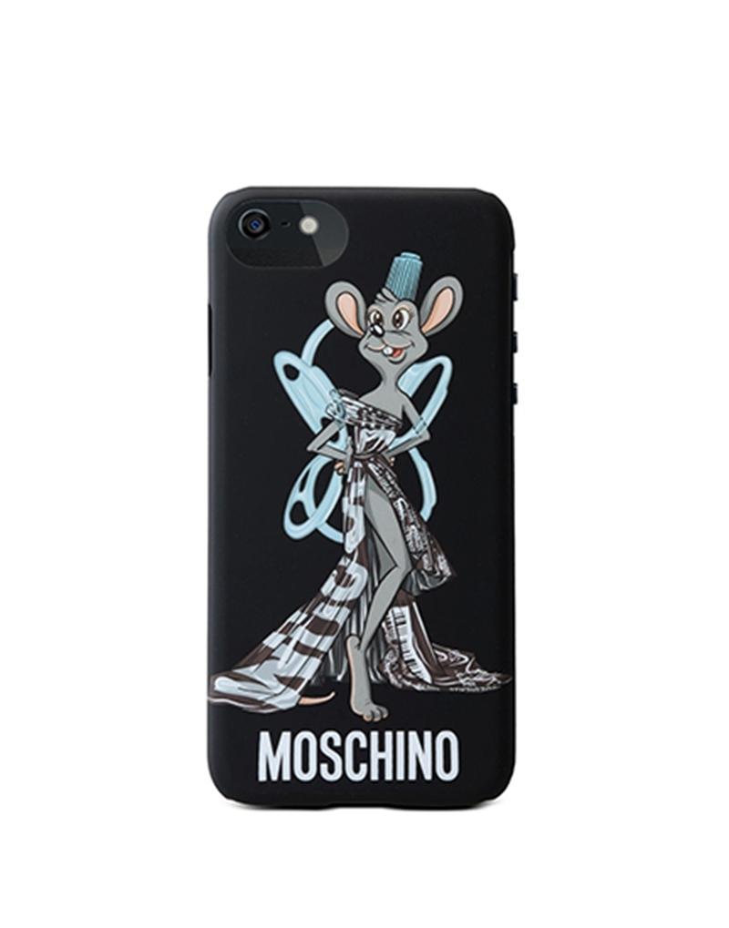 Moschinoブランド iphoneXジャケット