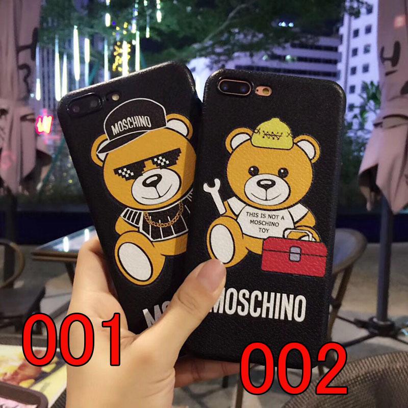 moschino iphoneXスマホケース ブランド