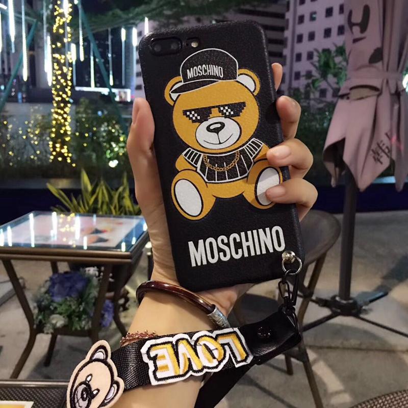 アイフォンX 人気カバー モスキーノ ジャケット