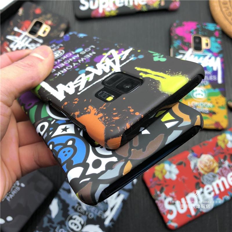 ブランドsupreme galaxy s9/s9+携帯カバー