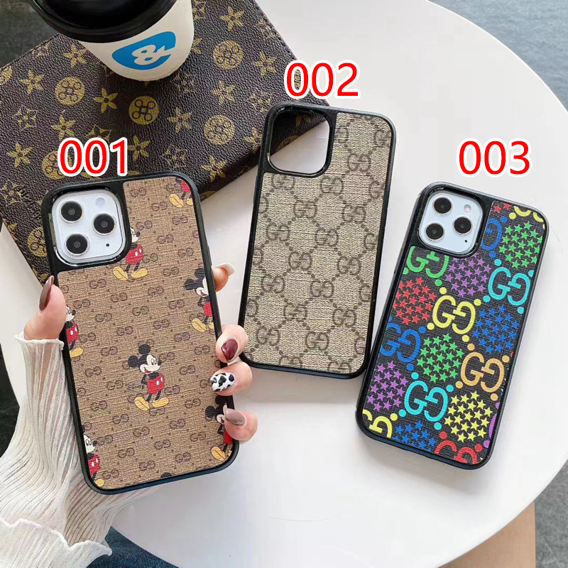 Gucci/グッチ ブランドiphone13/13 mini/13 pro/13pro maxケース コラボ ディズニー ジャケット型